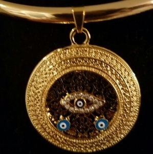 Greek necklace and omega chain